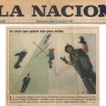 Fierita en Record Guiness Circus of Horrors - La Nación - 17/6/1997